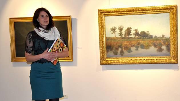 Komentovaná prohlídka výstavy Slavnost malby v Prácheňském muzeu.