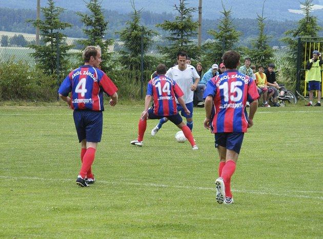 Fotbalisté Sokola Záhoří se v přípravném mezinárodním utkání na jarní část krajské I. B třídy střetli s německým Wallerfingem, se kterým remizovali 3:3.