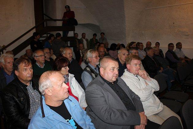 Veřejné představení projektu Živé Milevsko v Galerii M.