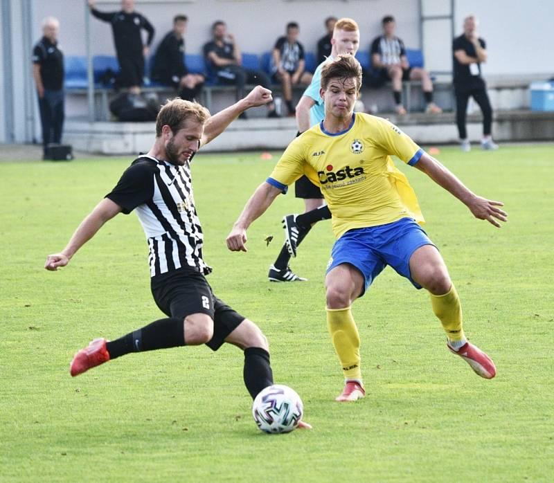 Fortuna ČFL: FC Písek - Admira Praha 3:3.