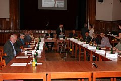 Zastupitelstvo v Milevsku. Ilustrační foto