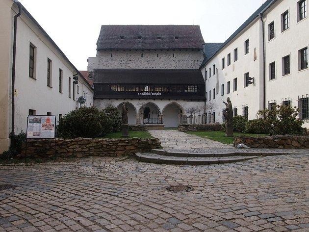 Prácheňské muzeum Písek. Ilustrační foto.