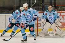 Hokejisté HC ZVVZ Milevsko se střetnou s Hlubokou o postup do finále.