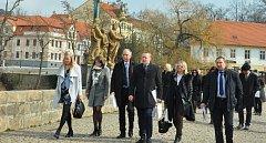 Město písek navštívila delegace z Lotyšska. Zástupci Parlamentu Lotyšské republiky se zajímali například o fungování místních samospráv.