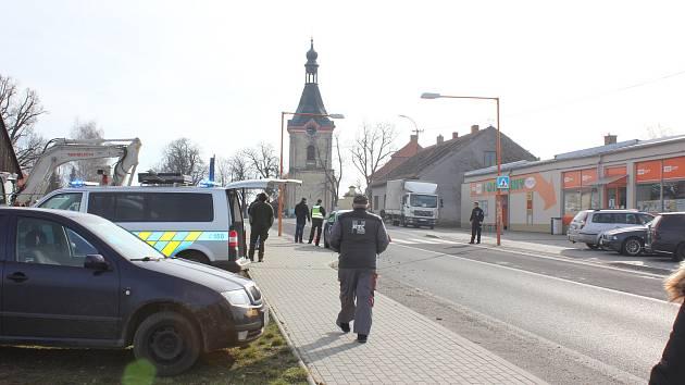 Dopravní nehoda v Záhoří.