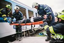 Písečtí dobrovolní hasiči se zúčastnili mezinárodního cvičení.