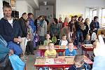 První školní den na Základní škole T. G. Masaryka v Písku.