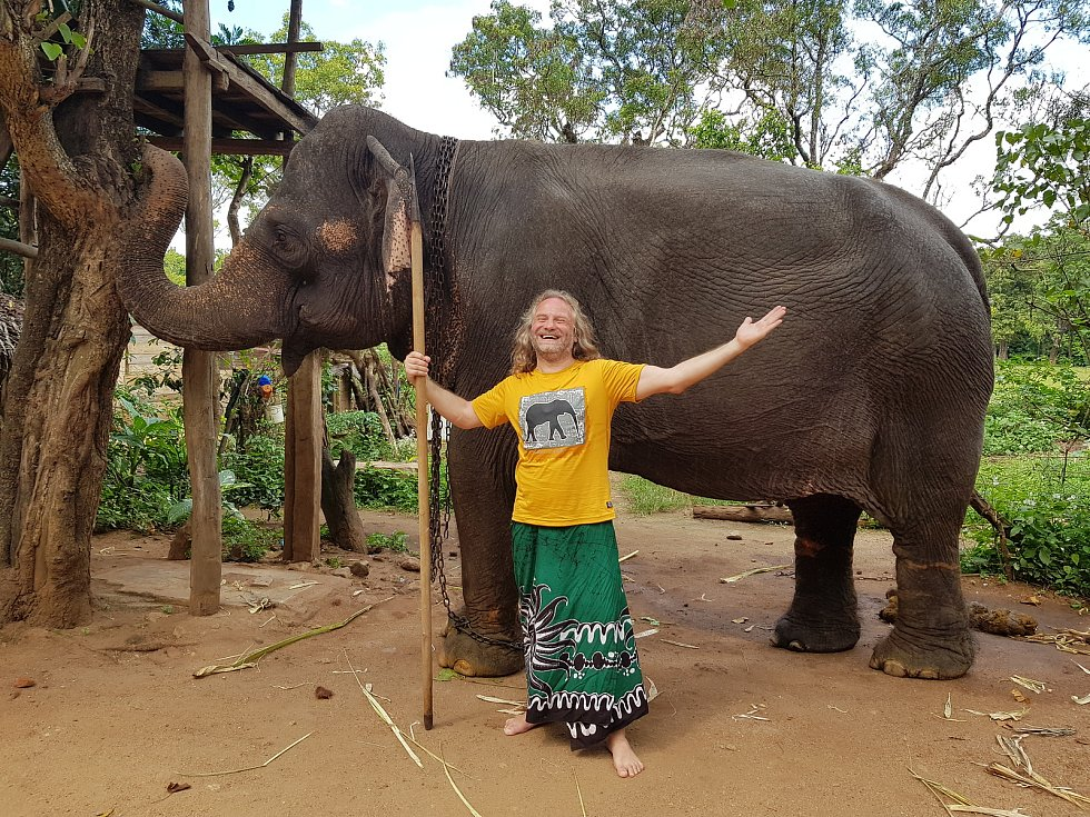 Pasák slonů.