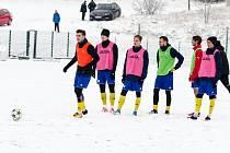 Písečtí třetiligoví fotbalisté odehrají poslední přípravné utkání.