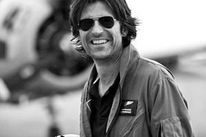 Pilot Rainer Steinberger, který tragicky zahynul při nehodě svého letounu na Písecku.