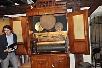 Orchestrion ze zlešické hospody Pod Zeleným hájem mohou vidět nyní návštěvníci v Prácheňském muzeu v Písku.