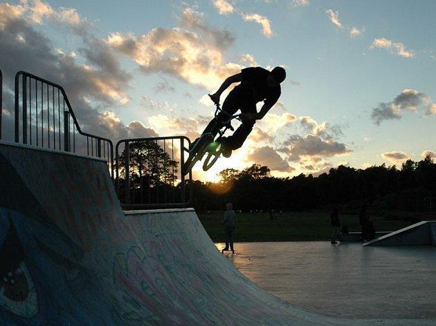 Skatepark v britském Birminghamu