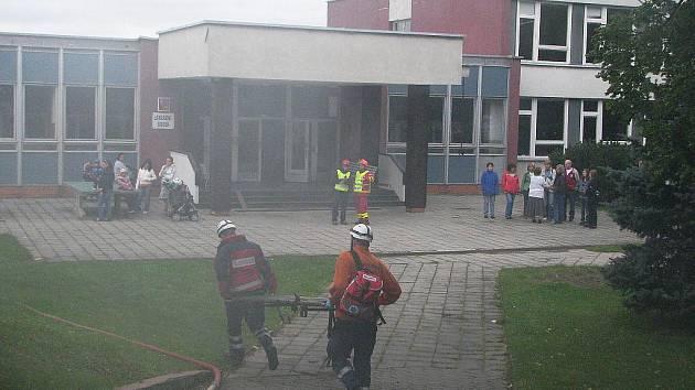 Cvičení záchranářů Rescue patrol 2010 v Záhoří.