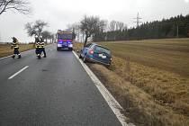 Dopravní nehoda u Sepekova.
