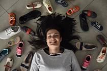 Klára Borlová - majitelka obchodu s dětskou obuví v Písku.