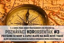Písečtí Sokolové lákají do přírody: Zkuste si takzvané KorOrienťáky.