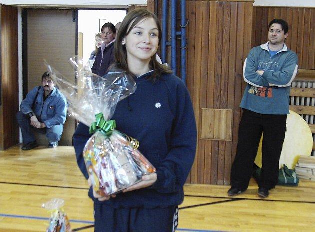 Písecká Tereza Havelková získala na Mikulášském halovém závodě v rybolovné technice ve Volarech ve své kategorii nejvíce bodů a zaslouženě zvítězila.