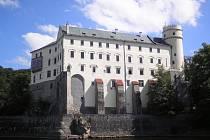 Zámek Orlík se stal před jedenácti roky cílem nájezdu dvou zlodějů. Ilustrační foto.