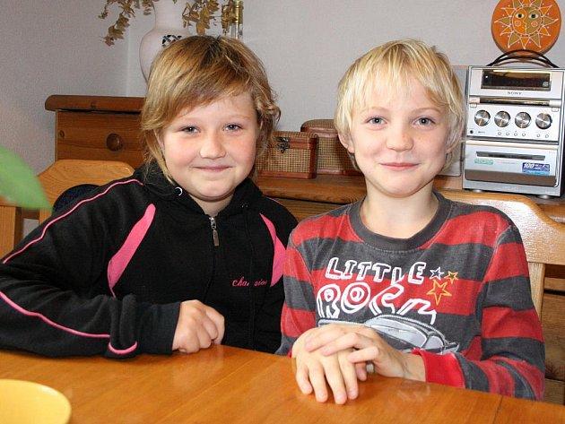 PETENTI. Soňa Moravcová (10)  a Adam Jakubec (9) patří k těm, kteří se pod žádost zaslanou zastupitelům podepsali.