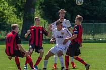 Fotbalisté FC Písek U19 se v posledním domácím utkání ČLD rozloučili výhrou.