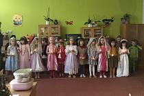 Vánoce ve školce na Hradišti.