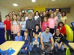 Diacel si užil podzimní bowlingový turnaj.