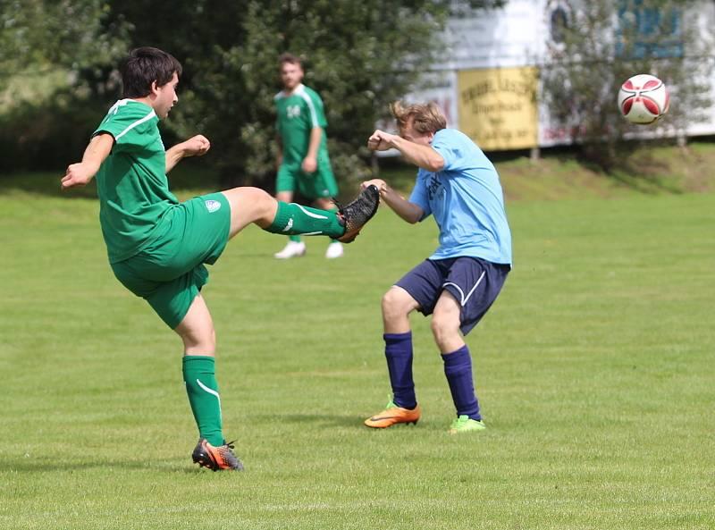 Okresní fotbal pokračoval dalším kolem. Ilustrační foto.