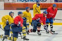 Písečtí hokejisté již trénují na ledě