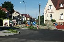Rekonstrukce v Jeřábkově ulici.