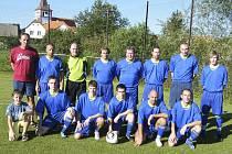 Fotbalisté TJ Podolí II (na snímku) podlehli v dalším zápase fotbalového okresního přeboru s béčkem Hradiště 1:4.