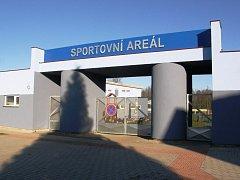 Protivín, sportovní areál. Ilustrační foto
