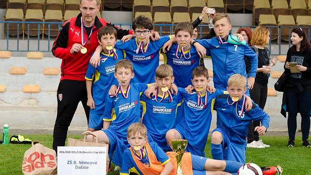 Krajské finále 22. ročníku McDonald´s Cupu v Písku.