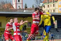 Písečtí fotbalisté zajíždějí ve třetí lize v neděli na hřiště Táborska B.