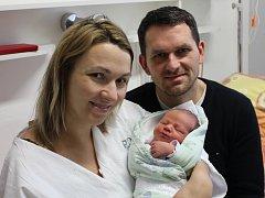 Mathias Koželuh se narodil rodičům Blance Majerové a Janu Koželuhovi z Písku 3. 12. 2017 ve 12.15 hod., vážil 4100 g a měřil 52 cm. Má sestřičku Sofinku.