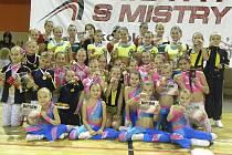 Na snímku ze sobotní soutěže v Písku jsou závodnice domácího klubu AC Sole.