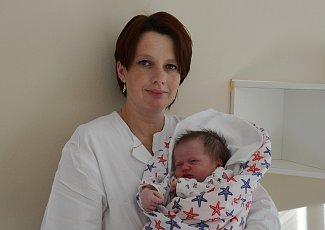 Veronika Bártová ze Skrýchova u Opařan. Dcera Petry Morávkové a Jiřího Bárty se narodila 30. 10. 2018 v7.55 hodin, při narození vážila 3350 g a měřila 51 cm. Doma se na ni těšili sourozenci David (6) a Kateřina (9).
