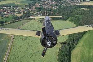 Fotografie z kritického letu.