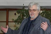 Spisovatel a ředitel Milevského muzea Vladimír Šindelář.