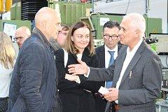 Italský velvyslanec navštívil OM Protivín.