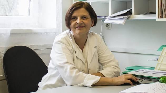 Lékařka Taťána Fischerová.