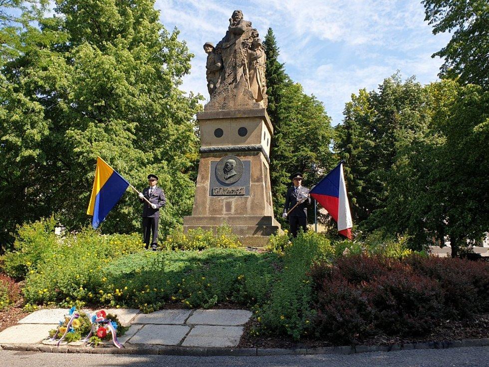 Připomněli si 102. výročí bitvy u Zborova.