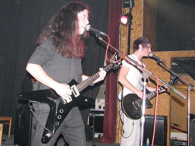 Část vodňanské kapely Morfium.