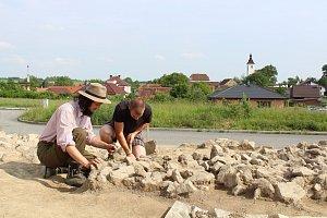 Archeologický výzkum v Albrechticích nad Vltavou