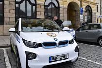 Elektromobil zapůjčeny Městské policii Písek.Foto : Archiv MÚ Písek
