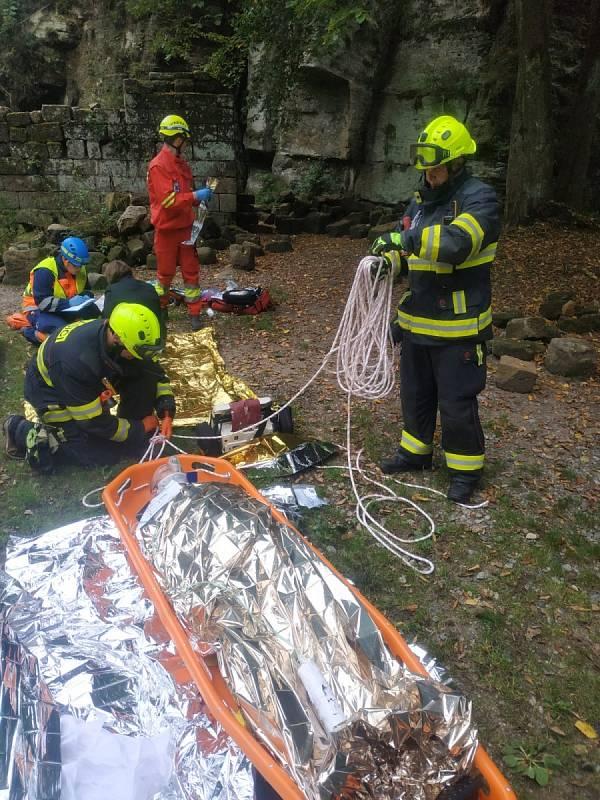 Mezinárodní cvičení hasičů Rescue Patrol.