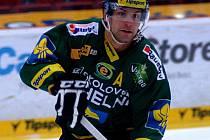 Petr Gřegořek během kariéry oblékal také dres Karlových Varů.