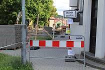 Průtah Protivínem je z důvodu rekonstrukce uzavřený.