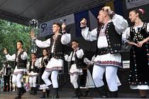 FESTIVAL POKRAČUJE. Mezinárodní folklorní festival v Písku pokračoval čtvrtečním programem.
