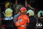 Písečtí dobrovolní hasiči se zúčastnili náročného cvičení.