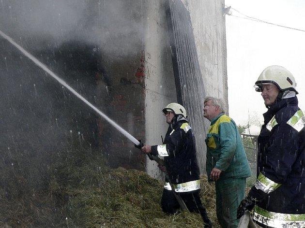Požár v Chřešťovicích
